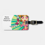 Oxygentees Alien Mission Travel Bag Tags