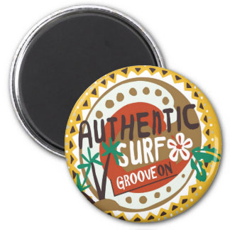 Oxygentees Authentic Surf  Magnet