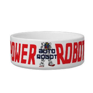 Oxygentees Auto Robot Power Pet Food Bowl
