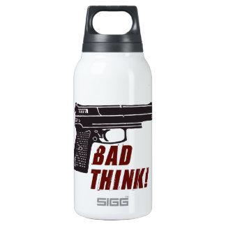 Oxygentees Bad Think  Liberty Bottle