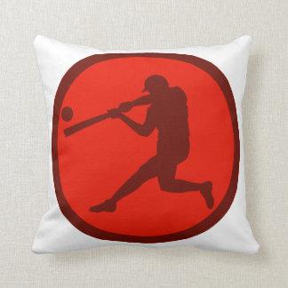 Oxygentees Batter Up Throw Pillow