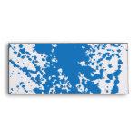Oxygentees Blue Splatter Envelope