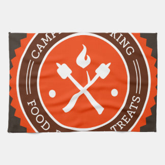 Oxygentees Campfire Cooking Kitchen Towels