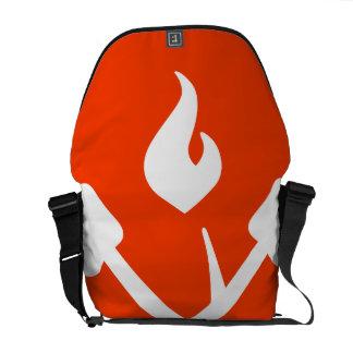 Oxygentees Campfire Cooking Messenger Bag