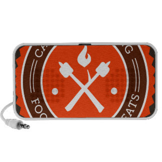 Oxygentees Campfire Cooking Mp3 Speakers