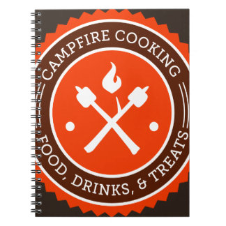 Oxygentees Campfire Cooking Note Book