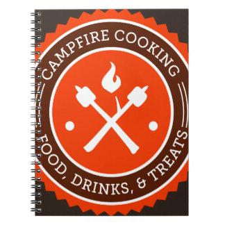 Oxygentees Campfire Cooking Spiral Notebook