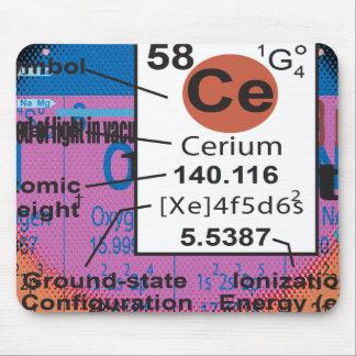 Oxygentees Cerium Mouse Pad