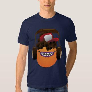 Oxygentees Cool MashUp Dude T-Shirt with Headphone