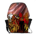 Oxygentees Death Skulls Messenger Bag