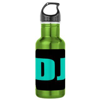 Oxygentees DJ Stainless Steel Water Bottle