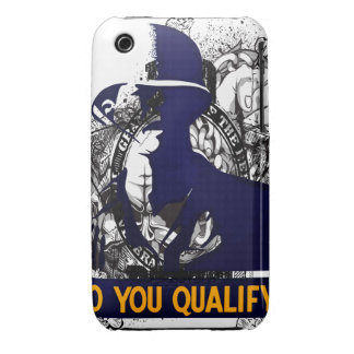 Oxygentees Do YOU Qualify Case-Mate iPhone 3 Case