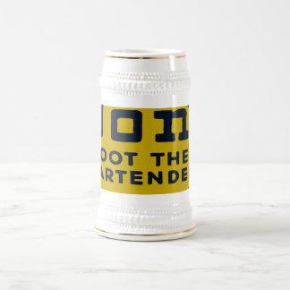 Oxygentees Don't Shoot The Bartender Mug
