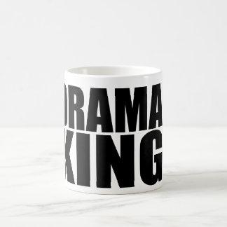 Oxygentees Drama King Coffee Mug