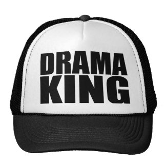Oxygentees Drama King Trucker Hat