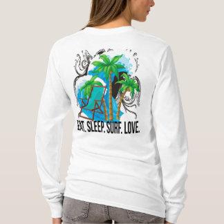 Oxygentees Eat Sleep Surf Love T-Shirt