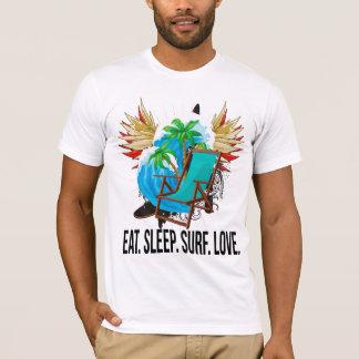 Oxygentees Eat. Sleep. Surf. Love. T-Shirt