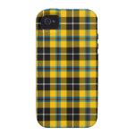 Oxygentees enojado para la tela escocesa iPhone 4/4S carcasa