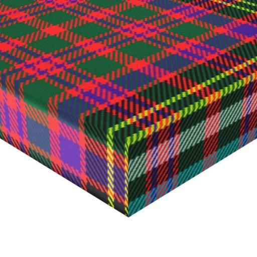 Oxygentees enojado para la tela escocesa lona envuelta para galerías