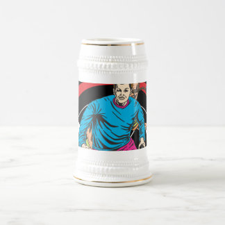 Oxygentees Extreme Soccer Beer Stein