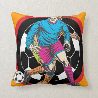 Oxygentees Extreme Soccer Throw Pillows