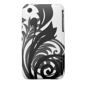 Oxygentees Floral Mania iPhone 3 Case-Mate Case