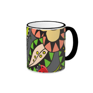 Oxygentees  Floral Mania Mugs