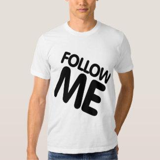 Oxygentees Follow Me Mashup Dude Tshirts