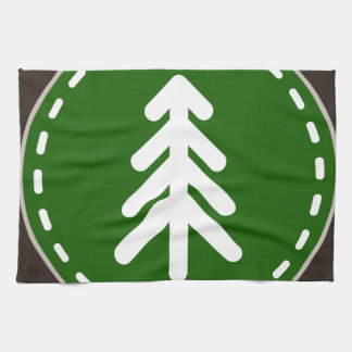 Oxygentees Forestry Hand Towel