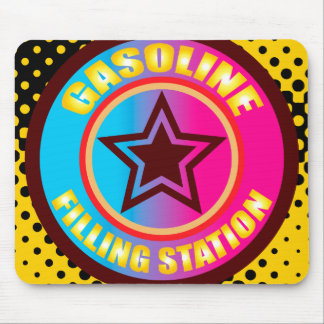 Oxygentees Gasoline Filling Mouse Pad