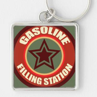 Oxygentees Gasoline Filling Station Keychain