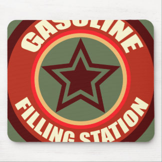Oxygentees Gasoline Filling Station Mouse Pad