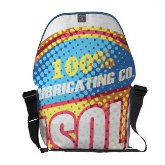 Oxygentees Gasoline Vintage Messenger Bag