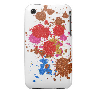 Oxygentees Glitter  Mania iPhone 3 Cases