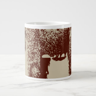 Oxygentees Gorrilla Walking Giant Coffee Mug