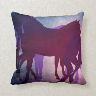 Oxygentees Horseplay Throw Pillows