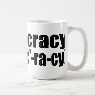 Oxygentees Ineptocracy Coffee Mug