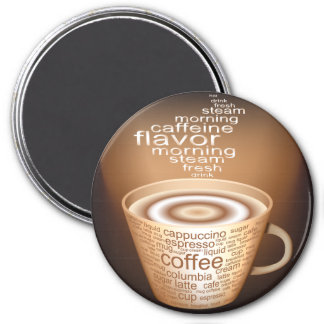 Oxygentees Latte Fridge Magnet