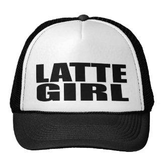 Oxygentees  Latte Girl Hats