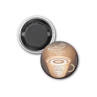 Oxygentees Latte Refrigerator Magnet