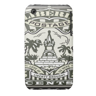 Oxygentees Liberia iPhone 3 Cover