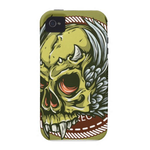 Oxygentees Live To Ride Vibe iPhone 4 Cases