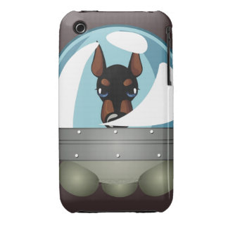 Oxygentees Love Dog Case-Mate iPhone 3 Case
