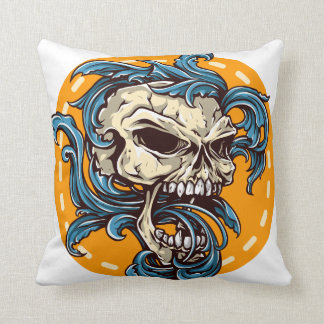 Oxygentees Loyal to None Throw Pillows