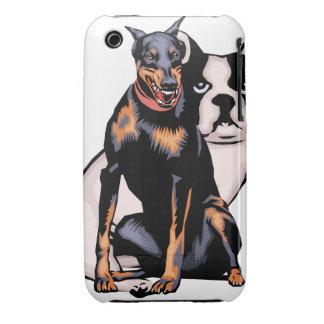 Oxygentees Nipper Dog iPhone 3 Case-Mate Case