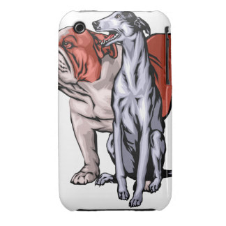 Oxygentees Nipper Dog iPhone 3 Cover