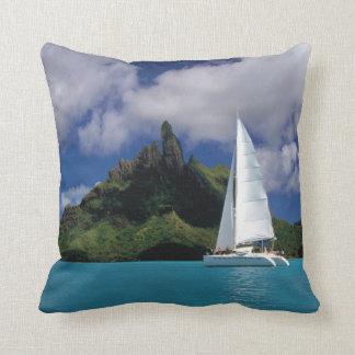 Oxygentees Paradise Throw Pillows