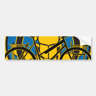 Oxygentees Pedal Power Bumper Stickers