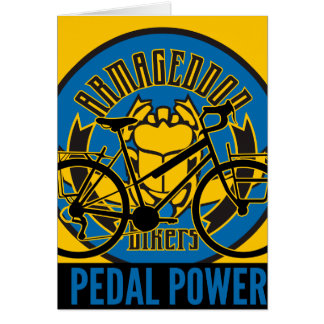 Oxygentees Pedal Power Card