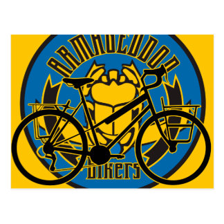 Oxygentees Pedal Power Postcard